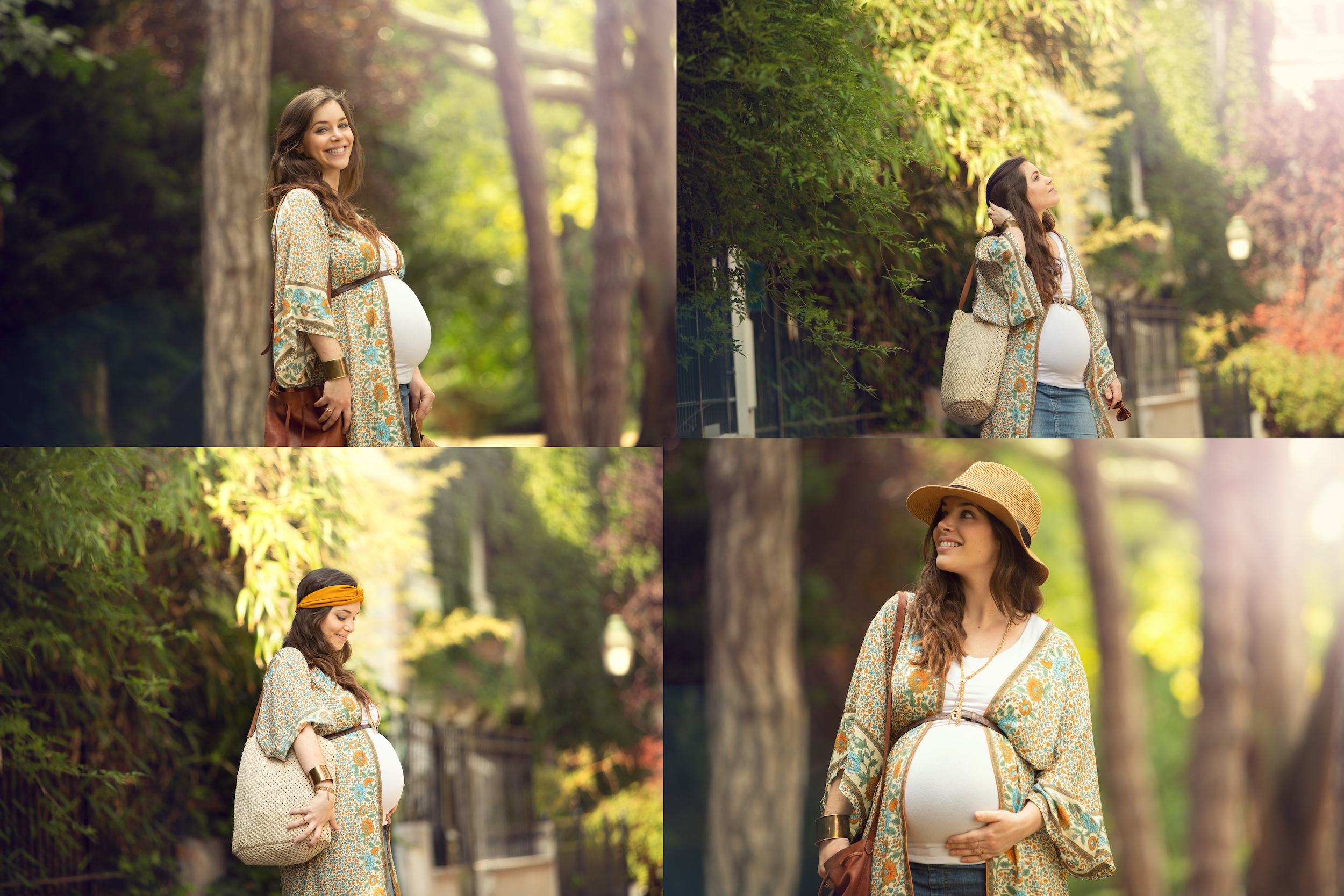 Seance photo femme enceinte lifestyle